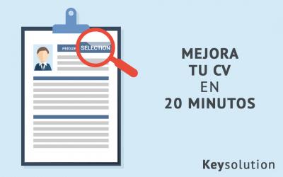 Mejora tu CV en 20 minutos